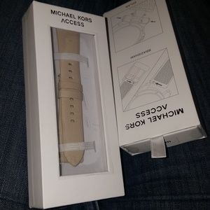 Michael Kors smart watch strap